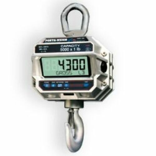 5,000 LB x 1 MSI-4300 Port-A-Weigh Plus NTEP Digital Marine Fishing Crane Scale