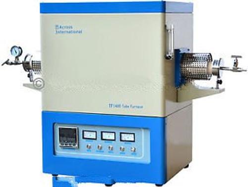 1400C 100mm OD Lab Digital Horizontal Vacuum Tube Furnace Heater w/ Sealing Kit