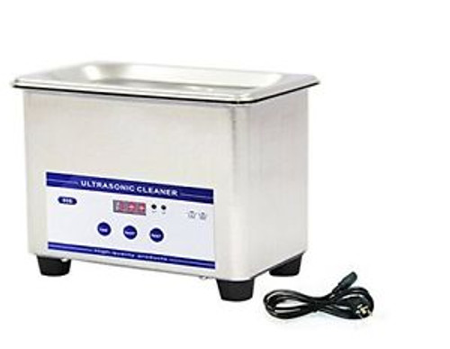 0.8L Professional Digital Ultrasonic Cleaner Machine + Timer Nealy 1L