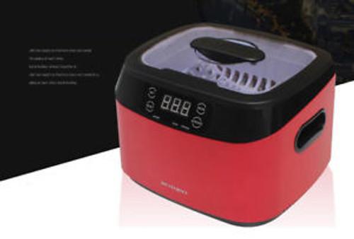 1.2L 35W/70W Ultrasonic Cleaning Machine Jewelry Watch Eyeglass Cleaner 110V