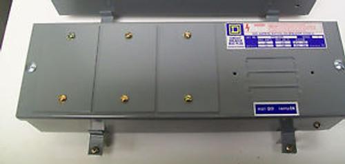 (1) Square D PIN-QOR 60 Amp 240Volt 3Ph 4W Busway Plug In Unit Switch Enclosures