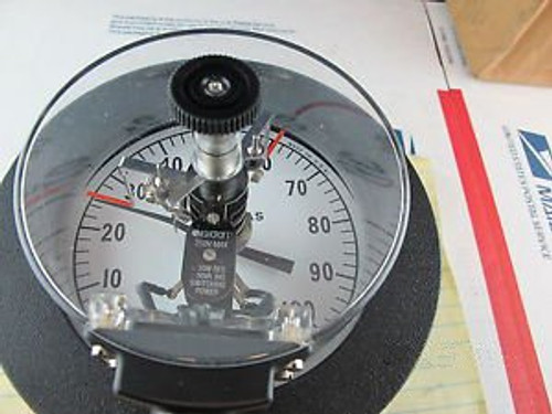 0-1000 C Remote Reading Gas Actuated Dial Thermometer With 2 Set Points 413E-Je