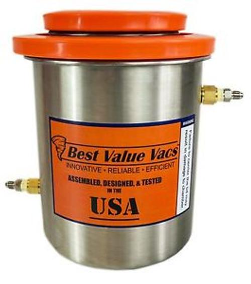 1.5 Gallon (2Qt Tank) Dry Ice Cold Trap