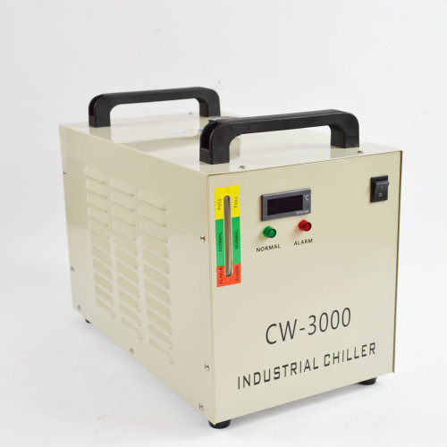 110/220V Thermolysis Industrial Water Chiller Cw-3000 For 60/80W Co2 Glass Tube