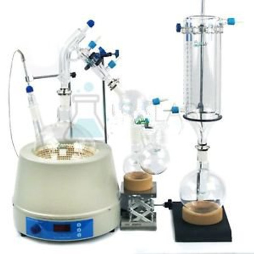 Usa Lab Equipment 2000Ml / 2L Short Path Distillation Kit