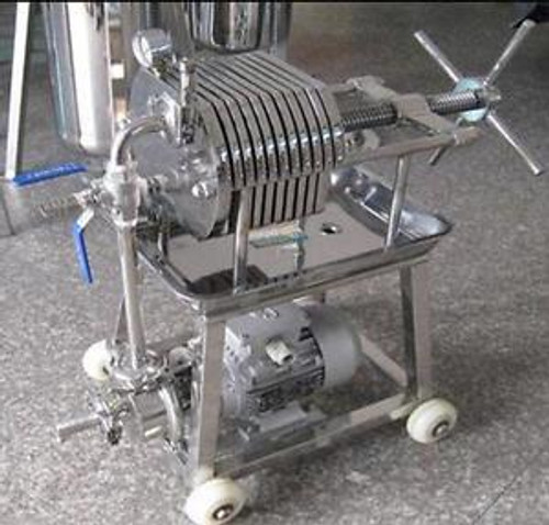 150 Stainless Steel Filter Press Filter Machine Lab Filtration Equipment T