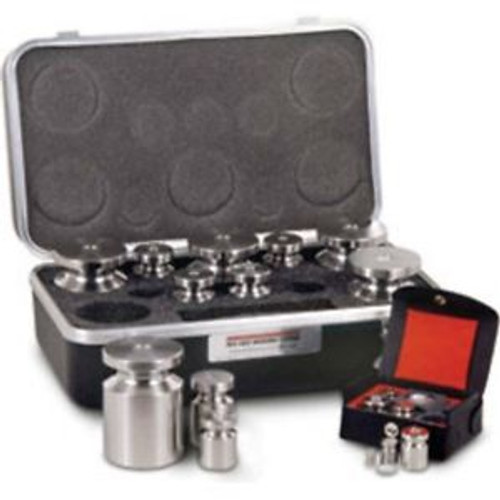 10 KG -1 MG Rice Lake Class F Calibration Weight Set, Traceable NIST Certificate