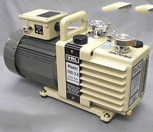 *3.5 CFM(100 L/MIN) 2 STAGE NEON SIGN VACUUM PUMP MANIFOLD EQUIPMENT SUPPLY