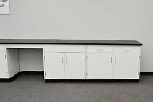 - Fisher American  24 Base Laboratory Cabinets / Case Work / Benches / Tops.