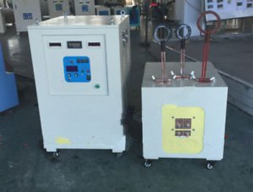 100KW 5-20KHz Dual Station Mid-Frequency Induction Heater Quenching Hardening