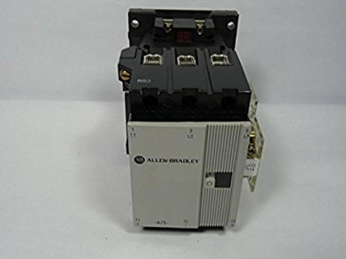 ALLEN-BRADLEY-100-A75ND3 IEC NON-REVERSING 75AMP MAX 120VAC COIL