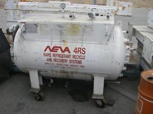 Neva Rapid Refrigerant Recycle Recovery Tank Model 4RS
