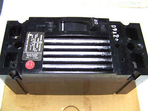 .. GEneral Electric Circuit Breaker TEB122080WL ...  80A ... 2P ... AA-20B