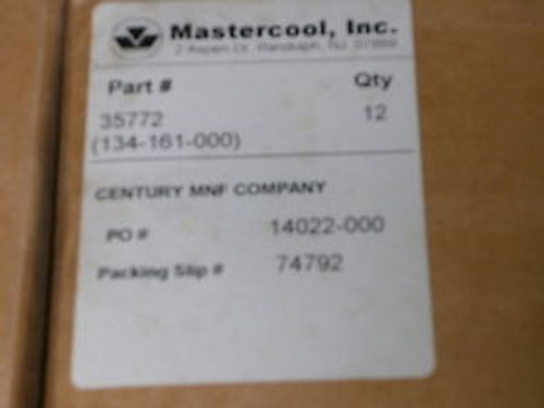 12 Mastercool R-12 R-22 Brass Manifold Gauge & Hose Set