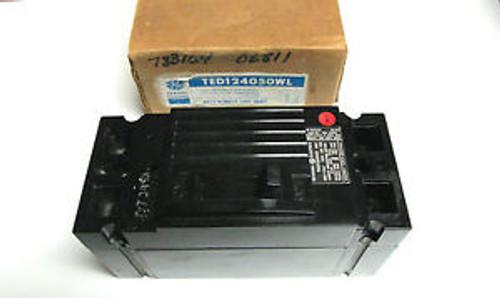 ... GEneral Electric 50A 2P Circuit Breaker Cat# TED124050 ...  WF-05