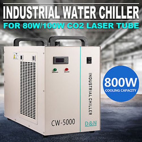 110V 60Hz CW-5000DG Industrial Water Chiller Commercial Maintenance Device Loc