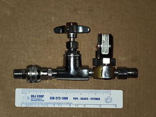3/8 WATERSAVER CHROME FINISH PRESSURE REGULATOR 0-100 PSI
