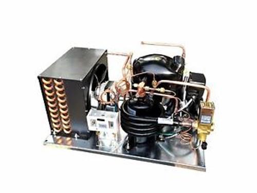Combo Air/water Cooled Condensing Unit 3/4 HP Mid Temp R134a 115V LD AJA7461YXA