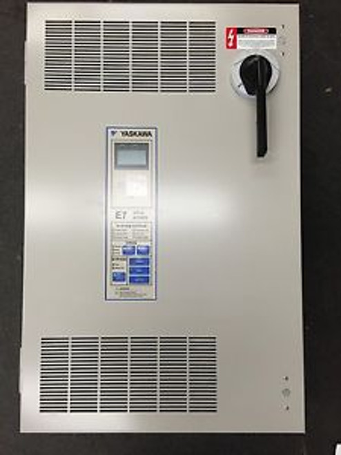 25 HP Yaskawa E7LVB034CGXY 34 AMP 480 VAC w/ Bypass AC Drive