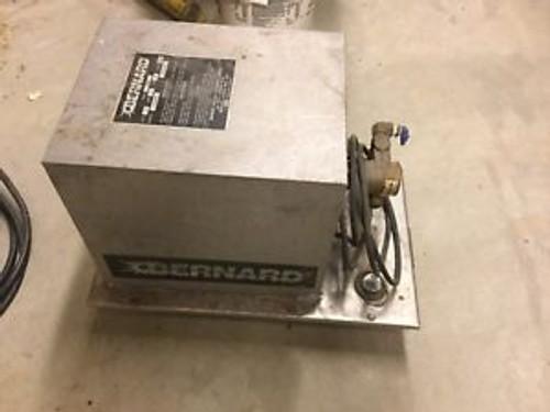 BERNARD 3500-SS TIG Torch cooler 3 gallon 115 Volt Used-Tested-Works