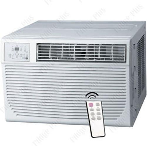 8000 BTU Window AC Unit w/ Heating 115V Standard Air Conditioner Fan & Remote