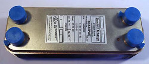 1 NEW XYLEM BRAZEPAK BP410-020 HEAT EXCHANGER 435 PSI
