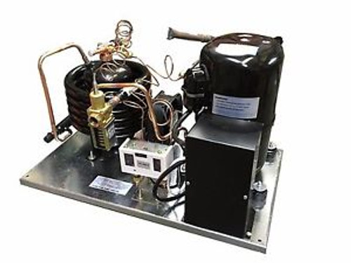 Water-Cooled LD AWA7515ZXD Condensing Unit 2 HP Medium Temp R404A 220V/1PH