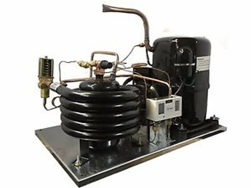 Water-Cooled LD AVA7524ZXN Condensing Unit 3 HP Medium Temp R404A 220V/1PH