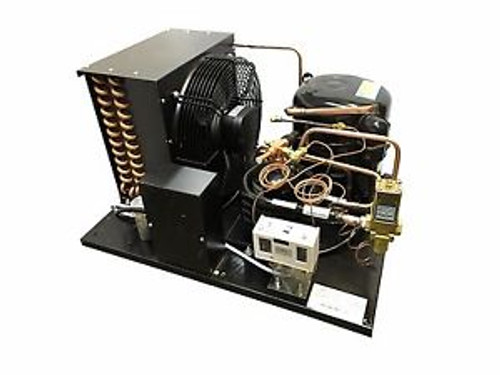 Combo Air+Water Cooled Condensing Unit 2 HP Med Temp R404A 220V