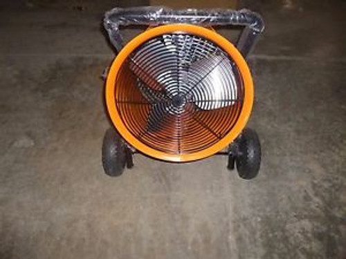 0623 New Dayton - Electric Salamander Heater Fan Forced 480V 60Hz - 1RKU2