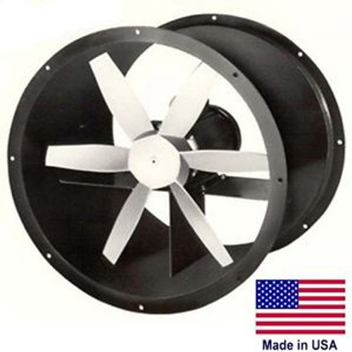12 Explosion Proof Duct Exhaust Fan - 3 PH 3/4 HP 3450 RPM 2044 CFM 230/460