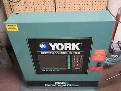 YORK OPTIVIEW MAX-E CONTROL CENTER # 371-02264-105 FEAT. 331-01771-000 DISPLAY