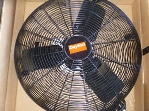 0387 New Dayton - Mobile Air Circulator Fan 24 115v 1 Phase 5030 Cfm 6AGY9
