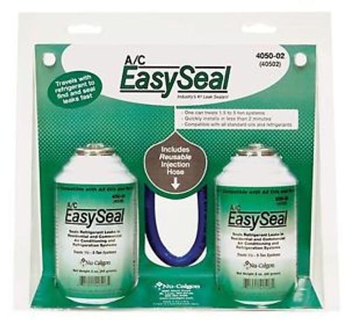 Nu-Calgon 4050-02 A/C Easy Seal Leak Sealant 2+1