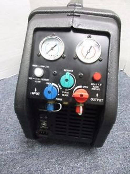 2-Port Refrigerant Recovery Machine Dayton 4UKW1 - NICE