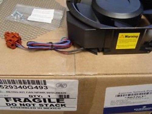 529340G493 LIEBERT 115VAC Retro Kit Fan 12-817445-00 Npower w/screen  - New