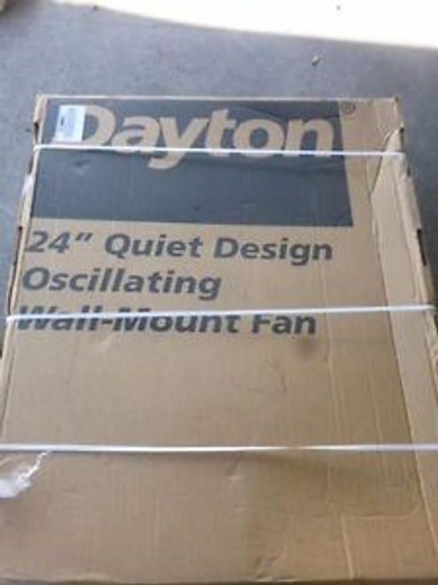 0377 New Dayton - Air Circulator Fan 24 Quite Design 115v 5030 Cfm - 2RDZ8