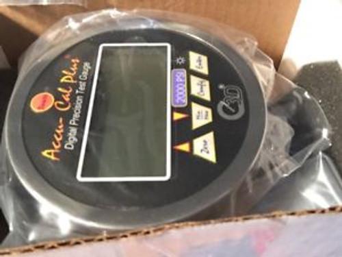 3D Instruments 75514-32B55 Digital Test Gauge 2000 PSIG