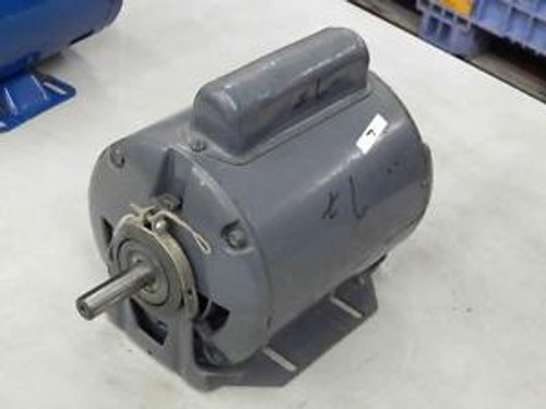 #7 General Electric GE Condenser Fan AC-Motor 3/4HP Fr 56 115/208-230V 3450RPM