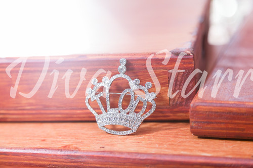 TLOD Crown Pin Silver