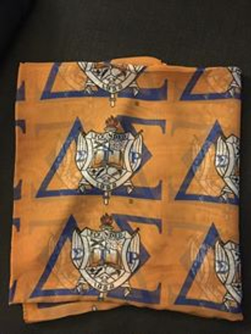 Delta Sigma Custom Chapter Scarf