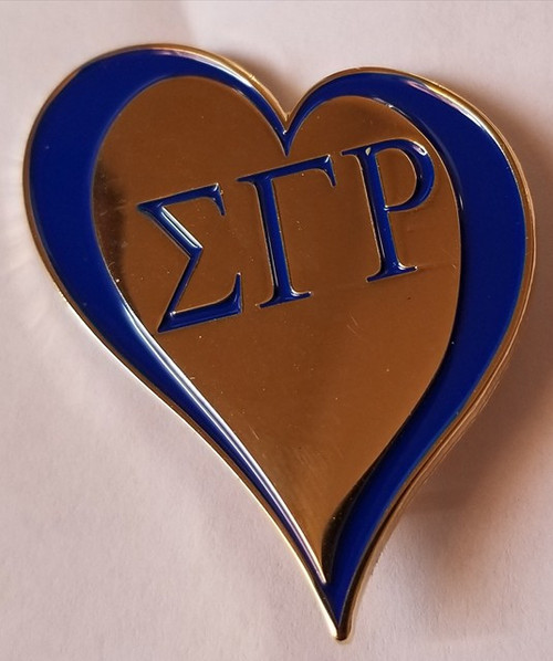 Sigma Love Lapel Pin