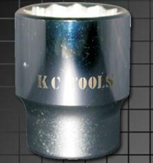 KC Tools 1-1/8 inch 3/4 inch DRIVE SOCKET AF