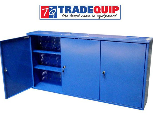 Tradequip 3 Door Wall Cabinet Brilliant Value!