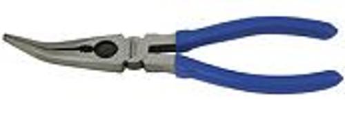 """KINCROME Long Nose Plier Bent 200mm (8"""")."""