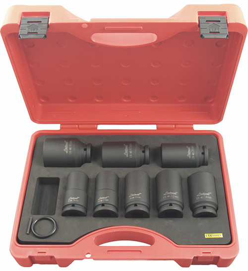 "Kc Impacta Metric 3/4"" Dve Deep Drive Impact Socket Set 11705"