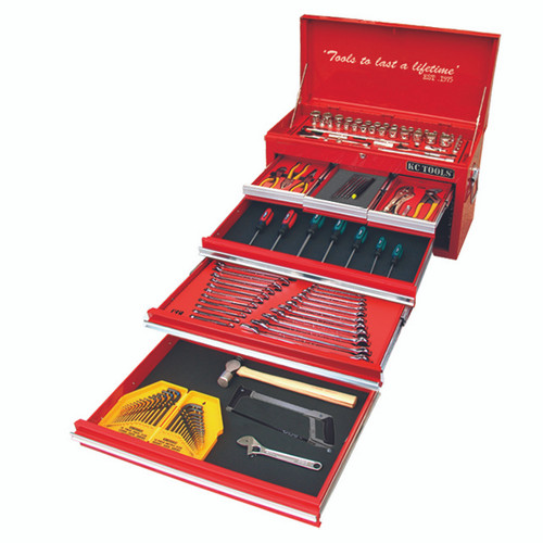 KC Tools 218pce AF MM Toolkit HDFI ATK218BB