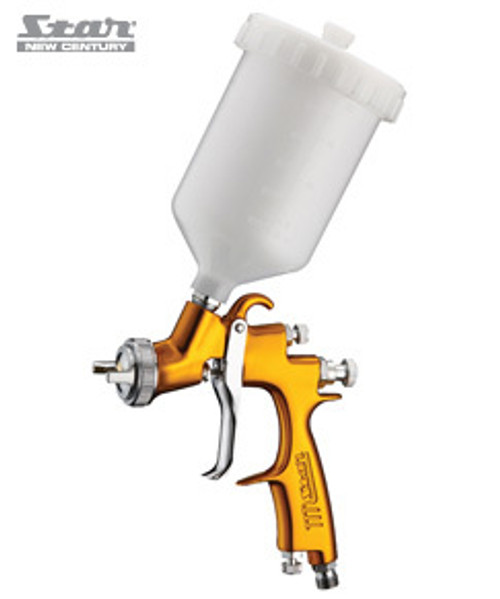 STAR V3 LVLP4000 SPRAY GUN GRAVITY 1.8MM GOLD