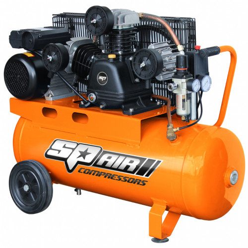 SP18 SP AIR CAST IRON AIR COMPRESSOR 60 LT TANK