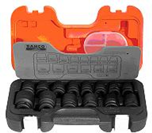 "Bahco 14 pce 1/2"" Dve Impact Socket Set DS14"
